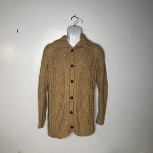 Liz Claiborne Long Sleeve Button Cardigan